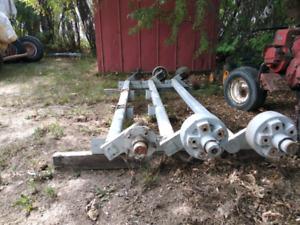 2000 lb axles x 3