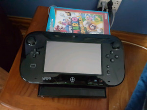 WiiU with 1 game