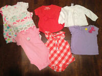 Summer clothes size 3 months-girl