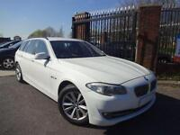 2012 BMW 5 SERIES 3.0 530D SE TOURING 5DR 1 OWNER EX POLICE FSH NEW ENGINE