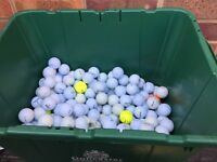 Mixed golf balls