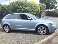 AUDI A3 SPORT AUTO TDI 2007 ONLY 83000 MILES