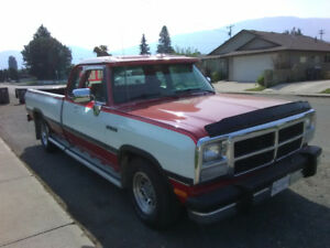 1992 Dodge Power Ram 2500 Pickup Truck