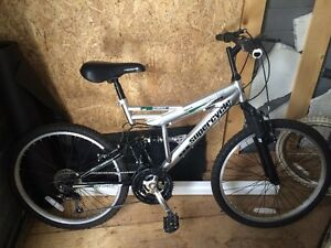 """Supercycle Vice 24"""" Full Suspension Mountain Bike"""