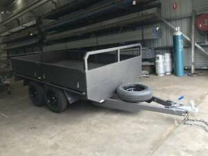 12x6 Tandem Flatbed Trailer @2800 GVM | Geelong Trailers Sale