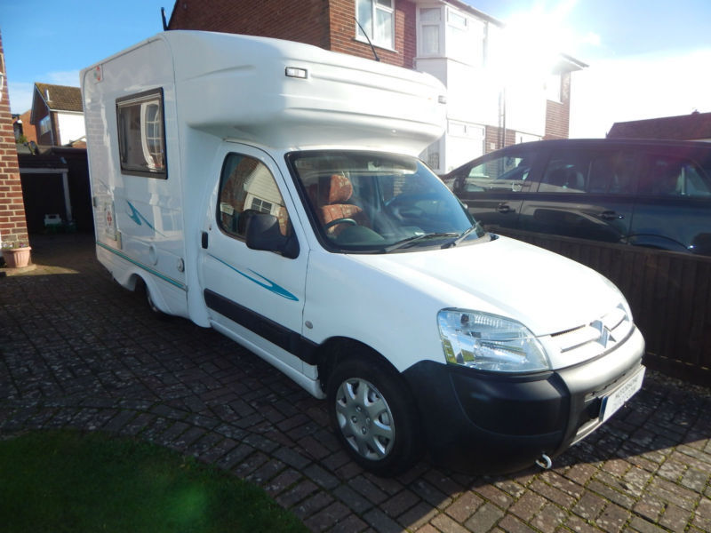 UNDER OFFER Nu Venture Surf 2004 2 Berth Compact Citroen Motorhome