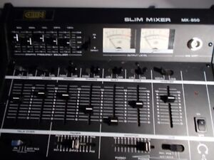 Mixer audio-Slim mixer MX-850 Saint-Hyacinthe Québec image 2