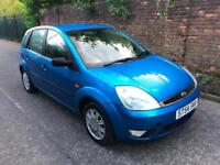 Ford Fiesta 1.4 Durashift EST 2005MY Ghia