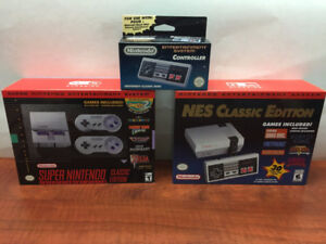 Would You Like More NES & SNES Classic Console Games?