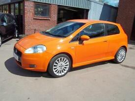 Fiat Grande Punto 1.4 16v Sporting. From £110 per month.