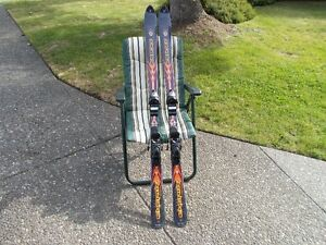 Rossignol 'Energy' Dueltec Metal Skis and Poles