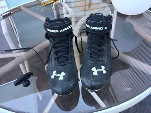 Under Armor Size 11 US Cleats