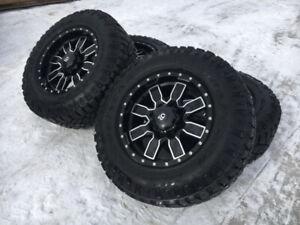 Mags Rtx offroad et pneus Goodyear Wrangler Duratrac pour F250