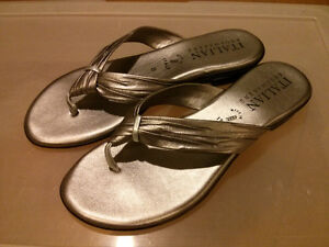 Italian made Summer Sandals size 8