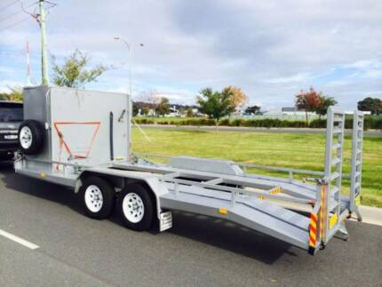 Car Trailer with Tool Boxes perfect for behind RV or Race Car Wodonga Wodonga Area Preview