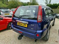 **RESERVED**Nissan X-Trail 2.2dCi SVE Blue Leather Sunroof DIESEL WARRANTY