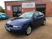 2004 Seat Leon 1.4 16v S Blue 5dr Hatch, **ANY PX WELCOME**