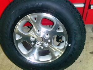 for sale a brand new rim and tire to fit a jeep grand cherooke