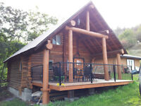 Rennovated cabin on Coldstream Acreage