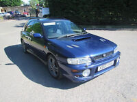 2000 SUBARU IMPREZA TURBO 2000 AWD 1994cc Petrol Manual 5 Speed 4 Door ESTATE wagon wrx sti 4x4