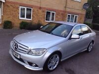 Mercedes-Benz C Class 2008 C220 CDI Sport Saloon*Diesel* AUTOMATIC *170 BHP*2 KEYS * DRIVES LIKE NEW