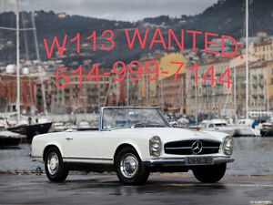 LOOKING FOR MERCEDES SL PAGODA w113