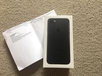 Apple iPhone 7 128gb - unlocked - never used - black - still sealed