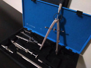 Staedtler Mars Compass Set in Storage Case, 7 pieces