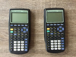 Used but CHEAP TI-83 Plus Graphing Calculators!