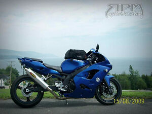 Kawasaki Ninja ZX9-R, custom build et allonger