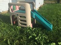 Play climber and slide