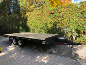 Utility flatbed trailer for sale