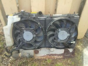 Subaru Forester XT Rad and fans