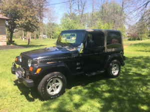 JEEP WRANGLER CONVERTIBLE FOR SALE