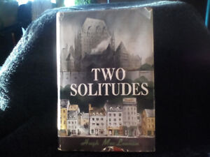 1st edition Two Solitudes by Hugh Mac Lennan 1945