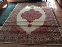 set of two area rugs
