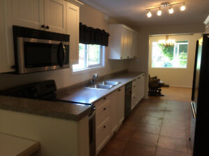 For rent, renovated two bedroom house Salmon Arm