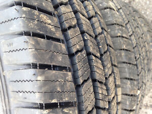 """Set of Four 10 Ply - 17"""" Tires  New Removed at Dealer. Michelin"""