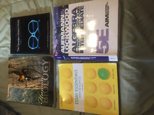 General arts and science textbooks! Asking $200 or best offer!