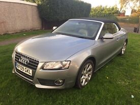 2009 AUDI A5 2.0TFSI CONVERTIBLE MINT CONDITION