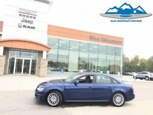 2016 Audi A4   ACCIDENT FREE, QUATTRO AWD, LEATHER