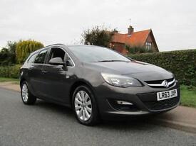 2013 Vauxhall Astra 2.0 CDTi 16V ecoFLEX TECH LINE 165 BHP 5DR TURBO DIESEL E...