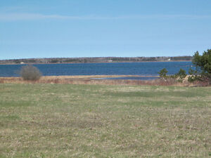Private southern exposure waterfront lots for $30,000 each