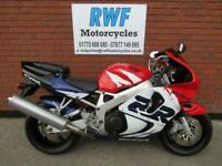 Honda CBR 900 RR FIREBLADE, 1999 V REG, MINT COND, ONLY 7,137 MILES