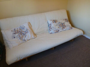 Futon, use as couch or bed