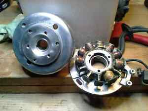 Polaris XLT 600 flywheel/stator