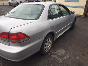 2002 Honda Accord Sedan $2300 o.b.o.