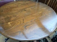 Ercol, Old Colonial Dining Table with drop leaves