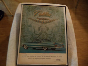 old cadillac classic car framed ads Windsor Region Ontario image 3