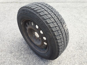 Pneus d'hiver BLIZZAK WS80 195/65R15 -HONDA CIVIC- Winter tires